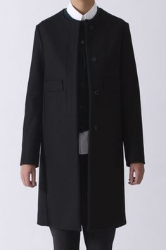 Marni Collarless Felt coat   https://www.envoyofbelfast.com/shop/693/marni/collarless-felt-coat