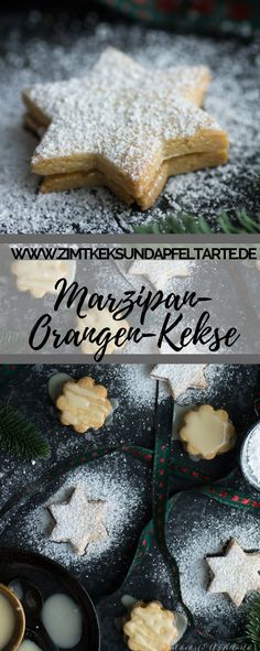 Lecker und einfach selber backen: meine gefüllten Orangen-Marzpan-Kekse sind ei… Delicious and easy to bake yourself: my filled orange-marzpan biscuits are simple and delicious and fit on every cookie plate in the Christmas and Advent season Marzipan, Easy Cookie Recipes, Easy Healthy Recipes, Fast Recipes, Chicken Tikka Masala Rezept, Biscuits, Pumpkin Spice Cupcakes, Christmas Baking, Christmas Recipes