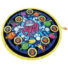 Aqua 3-D Spray Jelly Mat with Try Me Feature Aqua Leisure 1001592.