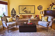 Yellow and Brown Living Room Idea - √ 25 Yellow and Brown Living Room Idea , Yellow Living Room Design Ideas Yellow Walls Living Room, Living Room White, Cozy Living Rooms, Living Room Modern, Living Room Designs, Sitting Rooms, Design Salon, Mellow Yellow, Mustard Yellow