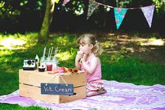 Such a cute idea. Girl Parties, 2nd Birthday Parties, 4th Birthday, Diy Ice Cream, Ice Cream Party, Ice Cream Station, Picture Ideas, Photo Ideas, Child Portraits
