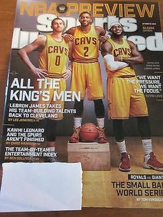 SI SPORTS ILLUSTRATED MAGAZINE OCTOBER 27 2014 NBA PREVIEW LEBRON JAMES NEW