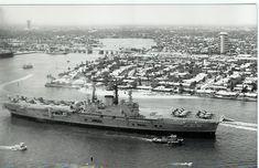 Hms Ark Royal, Aircraft Carrier, New York Skyline, British, Military, Explore, Photography, Ships, Travel