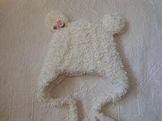 Bebek için pofuduk ayıcıklı şapka | Hepsi Ev Yapımı