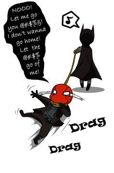 Dragging Him Home by CrimsonHorror.deviantart.com on @deviantART