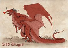 Red Dragon by etrii on DeviantArt