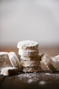 Chestnut Snow Cookies | Now, Forager | Teresa Floyd Photography http://now-forager.com/chestnut-snow-cookies/