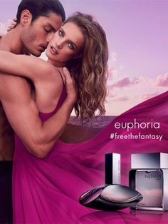 Calvin Klein Euphoria Perfume Ad