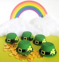 Leprechaun Hat Candy Bowls · Edible Crafts | CraftGossip.com