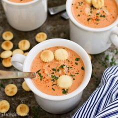 Crab Bisque from afarmgirlsdabbles.com