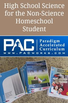 Looking for a quality high school homeschool science curriculum geared toward the non-science student? PAC Integrated Physics and Chemistry is a great choice