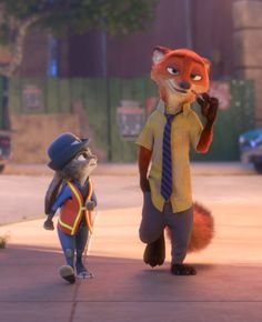 "Well, they are in Walt Disney Animation Studios' newest film, ""Zootopia"". Disney Zootropolis, Disney Icons, Disney Love, Disney Magic, Nick Wilde, Zootopia Movie, Studio Disney, Great Movies To Watch, Cute Disney Pictures"
