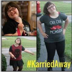 "Wet Seal gets ""KarriedAway"" with its new model–who has Down syndrome. I'm shopping there now! Families of people with special needs should go out of their way to patronize businesses that promote inclusion, IMHO."
