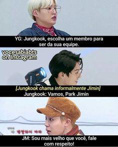 Jungkook e suas manias de irritar Jimin