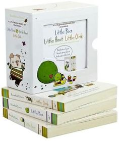 A Little Books Boxed Set Featuring: Little Pea/Little Hoot/Little Oink