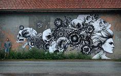 Monsieur Qui for the Kill Art Factory Festival-photos-de-Street-Art