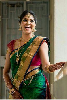 Blue Silk Saree, Bridal Silk Saree, Indian Silk Sarees, Indian Beauty Saree, Kerala Wedding Saree, Indian Wedding Wear, Saree Wedding, Traditional Silk Saree, Traditional Wedding