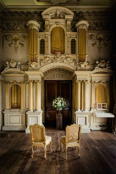 Civil ceremony in organ room in Carton House by www. Civil Ceremony, Wedding Memorial, Wedding Photography, Room, House, Beautiful, Home Decor, Wedding Shot, Homemade Home Decor