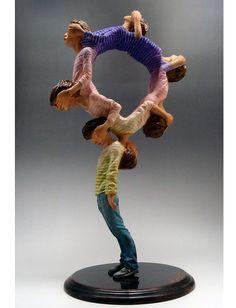 12 Sculptures by Yoshitoshi Kanemaki