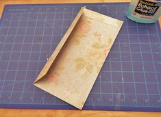 How to make envelopes from 12x12 scrap booking paper