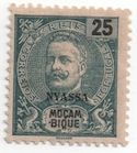 Nyassa Stamps - The 1898 Nyassa stamp issue