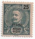 Nyassa Stamps - The 1898 Nyassa stamp issue