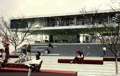 Student Center & Public Square Architectural Competition proposal by Onat Öktem & Ziya Imren