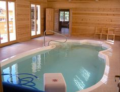 Rather than swimming pool my dream is an indoor swim spa combo ...