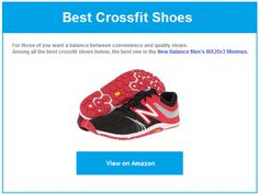Recommended best crossfit shoes