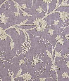 Pindler & Pindler Bandar Lilac Fabric.