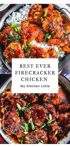 Asian Chicken And Rice Recipe, Recipes For Chicken Thighs, Asian Chicken Thighs, Best Chicken Thigh Recipe, Chicken Thighs Dinner, Chicken Dishes For Dinner, Crispy Chicken Recipes, Easy Chicken Dinner Recipes, Sauce For Chicken