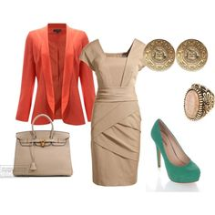 Would co ordinate the shoes and jacket...colorwise...or at least pick a neutral shoe...