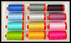"""Vanessa Christenson's """"Simply Color Collection"""", large spools, inside"""