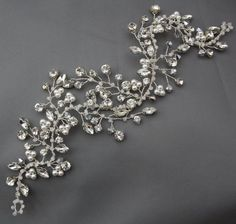 Versitile Flexible bridal hair vine by PrincessConchetta on Etsy