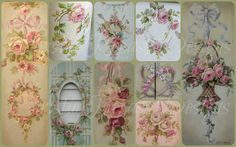 already, so I'm wishing you all a wonderful new year and sharing a couple sweet vintage postcards with you! Romantic Shabby Chic, Shabby Chic Pink, Vintage Postcards, Vintage Images, Decoupage, Christmas Shows, Pink Christmas, Chicken Art, Paper Crafts