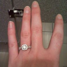 Bethany's engagement ring.