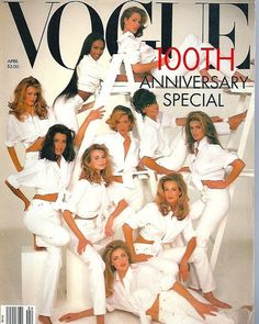 2018/01/24 15:58:47 My favourite cover ever. Can someone tell me from where can I get this issue? . . . . . . . #voguemagazine #covershoot #cover #photography #photoshoot #supermodels #christyturlington #lindaevanglista #cindycrawford #karenmulder #elaineirwin #nikitaylor #yasmeenghauri #claudiaschiffer #naomicampbell #tatjanapatitz #white #anniversaryissue #hf #highfashion #fashion #style #hair #makeup