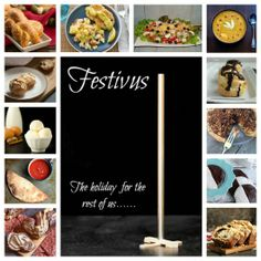 Festivus for the rest of us, a fun blog party you won't want to miss seeing what everyone made in Seinfeld themed eats!