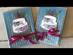Sweet Cake Soiree Birthday Card Stampin' Up! Occasions 2018 Card - YouTube