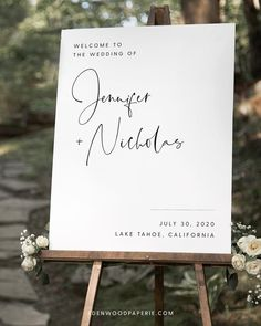 Minimalist Wedding Welcome Sign Purchase, personalize, and print within minutes! Edit using the Templett app in your computer browser – no additional software needed! Please try demo and seek clarification before purchasing the template. FREE DEMO ━━━━━━ Wedding Envelopes, Wedding Invitations, Wedding Guest Book Alternatives, Wedding Ideas, Baby Shower Announcement, Modern Minimalist Wedding, Floral Save The Dates, Wedding Decorations On A Budget, Sign Templates