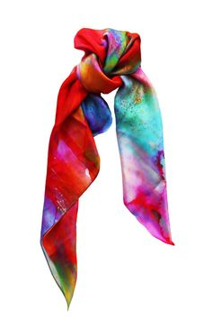 FREE SHIPPING on Dreaming Silk Scarf by Amy Sia - limited stock available