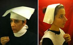 A series of Flemish style portraits taken in airplane lavatories. Hah!