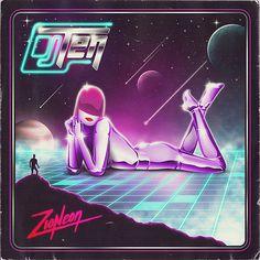 Dj Ten - Zioneon (Album Artwork) on Behance
