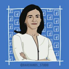 SHERYL SANDBERG Powerful Women Series No.10  As the COO at the helm of Facebook, Sheryl Sandberg @sherylsandberg juggles the tasks of monetising the world's largest social networking site while keeping its users happy and engaged.  Long before Sheryl Sandberg left Google to join Facebook as it's Chief Operating Officer in 2008, she was a fan. Today she manages Facebook's sales, marketing, business development, Human Resources, public policy and communications. It's a massive job, but one… Join Facebook, Chief Operating Officer, Human Resources, Powerful Women, Social Networks, Girl Power, Public, Fan, Marketing