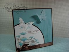 UPSY DAISY for Linzie, Card #3 by SandiMac - Cards and Paper Crafts at Splitcoaststampers