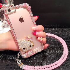 For iPhone plus Luxury Full rhinestone diamond shining hello Kitty case for Apple / Plus clear cover case – World of Hello Kitty Merchandise Girly Phone Cases, Iphone Cases Disney, Iphone Se, Iphone 7 Plus, Apple Iphone, Iphone Wallet Case, Iphone Case Covers, Hello Kitty Merchandise, Ipad Air Case