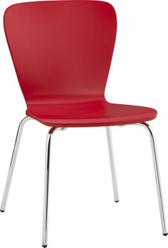 Felix Red Side Chair - If you wanna go a little wild, dutch colonial meets modern? Just throwing it out there. $89
