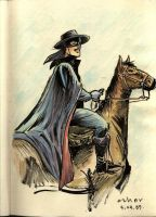 Zorro after Alex Toth by azharmaa