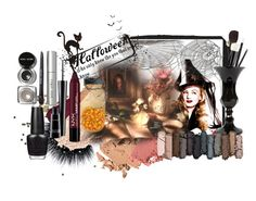 """Boo! Bold Halloween Makeup"" by mrs-nicole ❤ liked on Polyvore featuring beauty, Topshop, Jenny Patinkin, Urban Decay, Bobbi Brown Cosmetics, MAC Cosmetics, OPI, Halloween, makeup and halloweencostume"