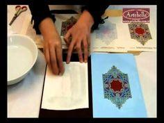 ▶ Artebella Kolay Transferler Ahşapta Açık Zemin/Koyu Zemin Farkları - Eğitmen Gülçin Göksu - YouTube